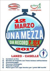 A5 lanzo caselle 2017